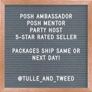 Posh Ambassador | Posh Mentor | Party Host x2